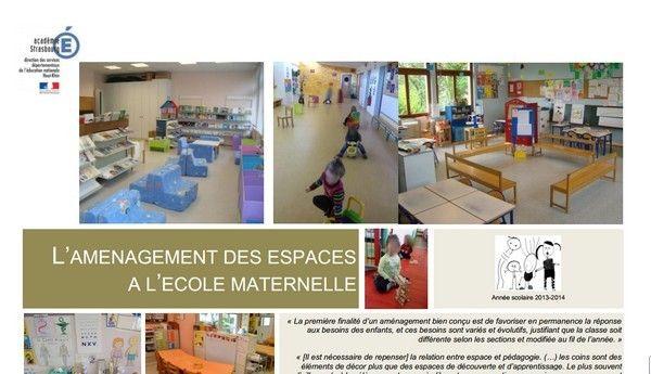 Document aménagement de la classe ( lien: http://www.circ-ien-illfurth.ac-strasbourg.fr/wp-content/uploads/2014/07/Dossier_complet_amenagement_des_espaces.pdf