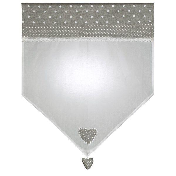 40 best petits rideaux images on pinterest cortinas crochet border tiles and crochet curtains for Petit rideau gris