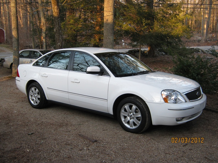 my 2005 ford five hundred awd sel white cars pinterest. Black Bedroom Furniture Sets. Home Design Ideas