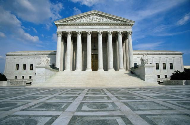 Explore a Building of Blind Justice: The US Supreme Court Building: Main Entrance