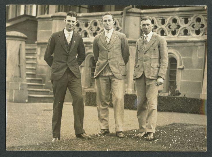 Ralph Francis Joseph Cormack, Allan Iain Forbes Mackillop and George Nash of the UQ Inter-varsity Debating Team. 1929. From the UQ Fryer Library Photograph Collection http://espace.library.uq.edu.au/view/UQ:179606.