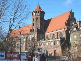 Kościół św. Mikołaja w Gdańsku. #gdańsk #klasztor #dominikanie