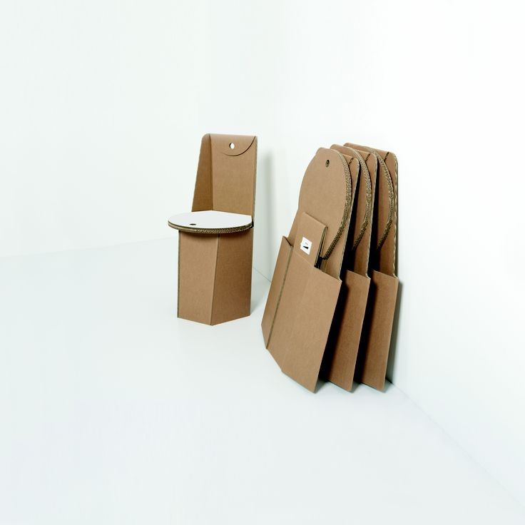 Cardboard Chair From Kubedesign Collection Cardboard