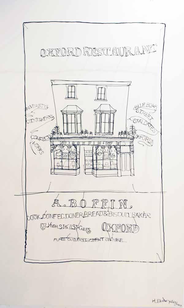 Junction Art Gallery - Helaina Sharpley, 'A.Boffin' wirework