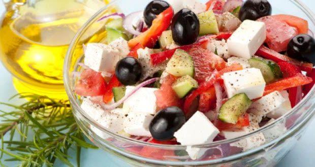 kuchnia grecka salatka horiatiki