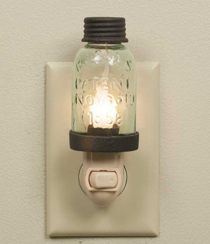 "1¾"" x 5"" with night light appliance. Candle-Lite bulb and appliance are included."