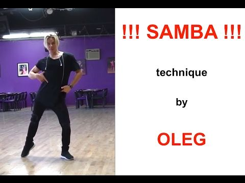 !!! SAMBA SAMBA SAMBA !!! - technique to make your LEGS look AMAZING for competitions and shows. - YouTube