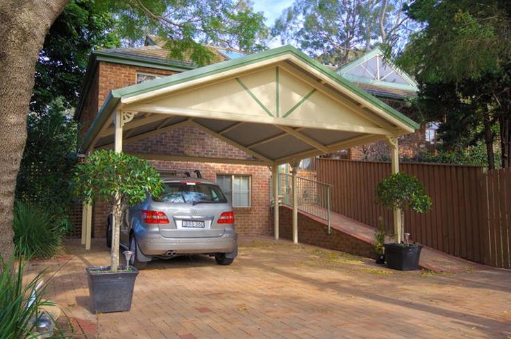 9 best images about carport on pinterest wooden carports for Brick carport
