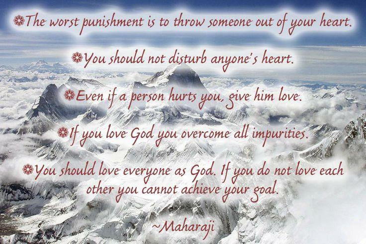 Maharaji on Love