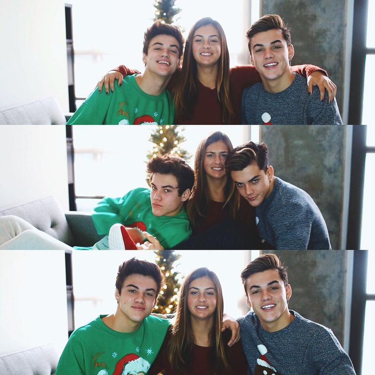 """Dolan fam Christmas cards are always lit af haha"""
