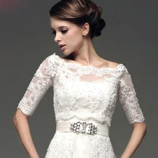 Новый свадебный платок кружевные шали невесты платок слово плечо безрукавка л Весна