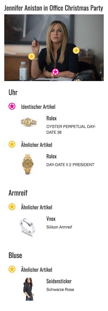 Im Gegensatz zu ihrem Bruder Clay Vanstone (T.J. Miller) hat Carol Vanstone (Jennifer Aniston) ihr Leben fest im Griff. Zumindest beruflich. Das wird bereits klar, wenn man sich ihren Style einmal genauer ansieht. Hier verrät nämlich schon die goldene Uhr von Rolex, dass ihre Trägerin nicht jeden Cent zweimal umdrehen muss.