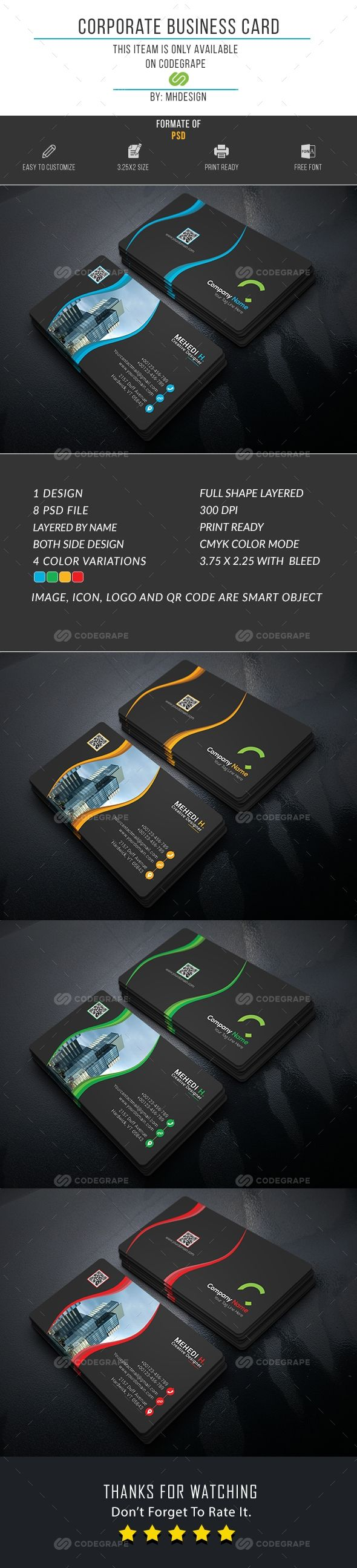 195 best business cards images on Pinterest | Card patterns ...