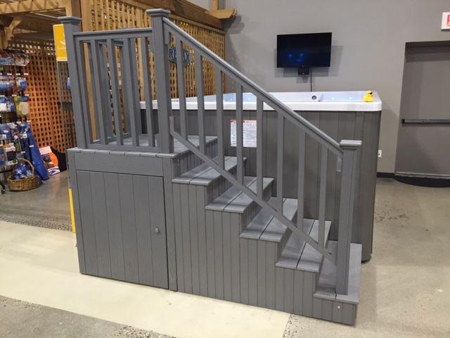 Best Swim Spa Steps With Handrail And Underneath Storage 640 x 480