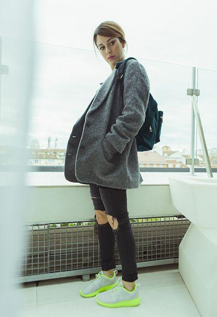 El perfecto 'outfit' del viajero según Blanca Suárez. #moda #tendencia