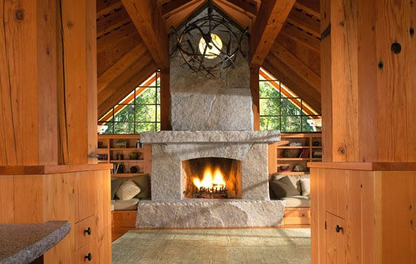 17 Best Images About Bookshelves Around Fireplace On