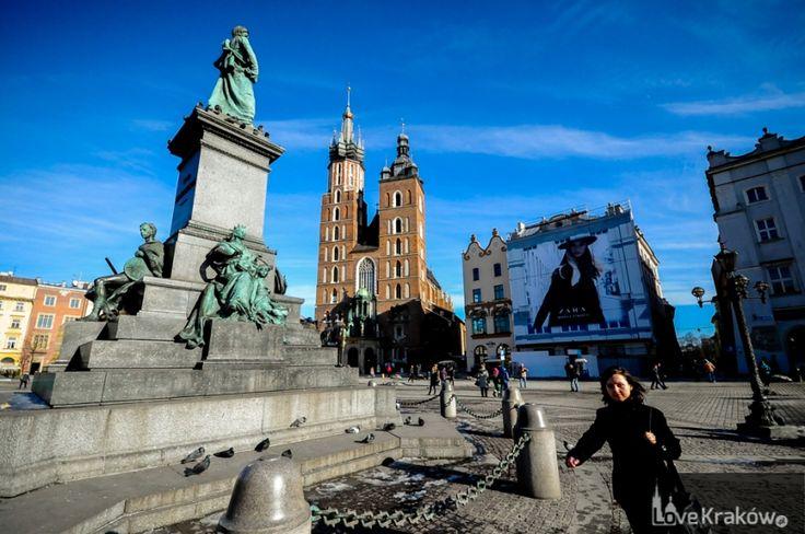 Rynek Główny. Love Kraków