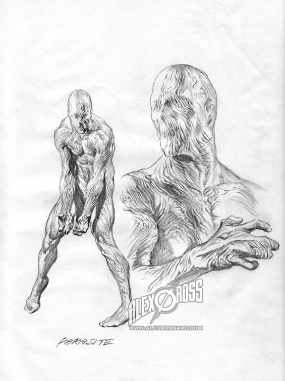 how to draw like alex ross