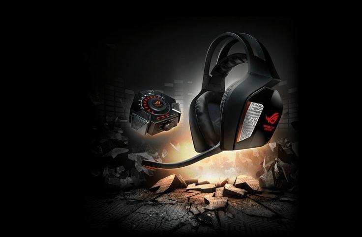 ASUS Republic of Gamers anuncia los headset gamer Centurion