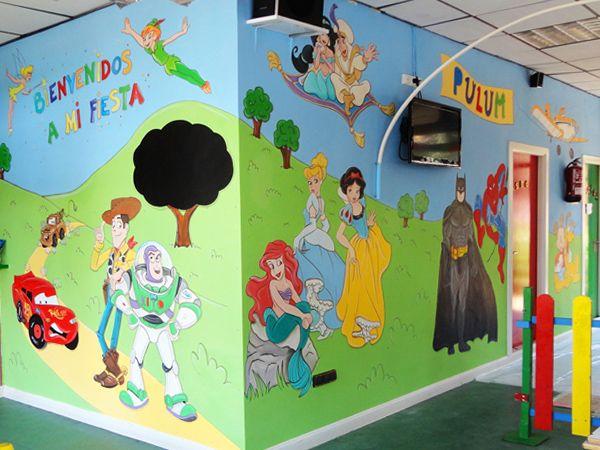 25 ideas destacadas sobre murales pintados en pinterest - Murales infantiles pintados a mano ...
