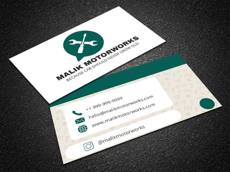 The 35 best free professional business card edit online and edit this whatsapp themed mechanic card template online with your branding to get a reheart Image collections