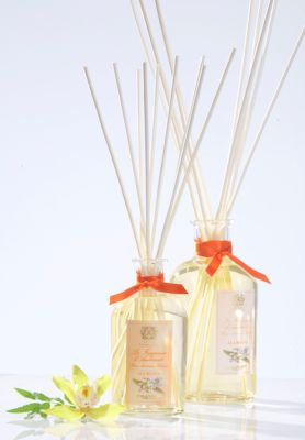 Antica Farmacista Ala Moana home ambience fragrance; this one has a flora/tropical scent!