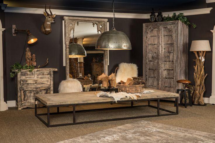 Landelijke vintage meubelen