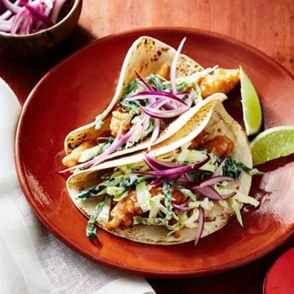 California style fish tacos food pinterest d abs for Pioneer woman fish tacos