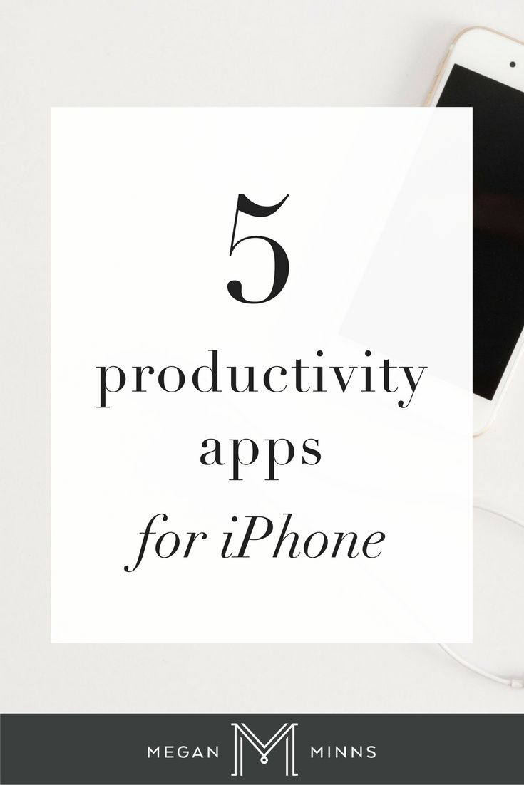 Today I'm going to share with you my five favorite productivity apps for  your phone. I use these apps every single day and they have made a huge  difference in how focused and productive I am throughout the day, so I'm  really excited to share them with you.   Do you follow me on YouTube yet?   I publish new videos every Thursday, so be sure to click the button below  and subscribe so you can get my best tips and tricks on how to save time  running your business!   SUBSCRIBE NOW!  Pr...