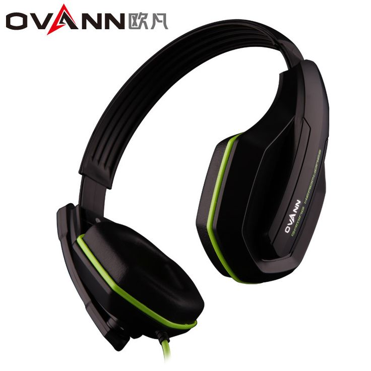 OVANN Light Comfortable Computer Headphones Computer Games Headset with 3.5mm Mic and Gift Box Headset Earphone For PC Laptop