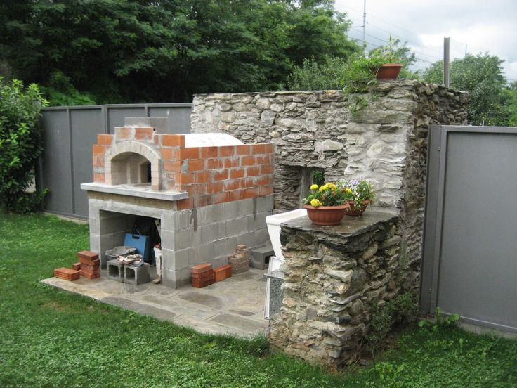 Forno in mattoni refrattari a base rettangolare (costruzione) - page 3 - Come costruire un forno a legna