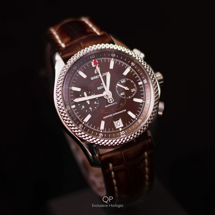 This pre-owned, but good as new Breitling for Bentley Mark VI is available at QP Exclusieve Horloges for the price of €4.500,-! The Mark VI is Breitling for Bentley's smallest model, with the diameter of the dial being 42mm. This makes the Mark VI a true dress model; a very classy and modest wristwatch.  #qpexclusievehorloges #breitling #bentley #breitlingforbentley #horloges #watches