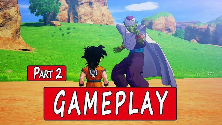 Dragon ball z kakarot gameplay game pc part 2 en 2020