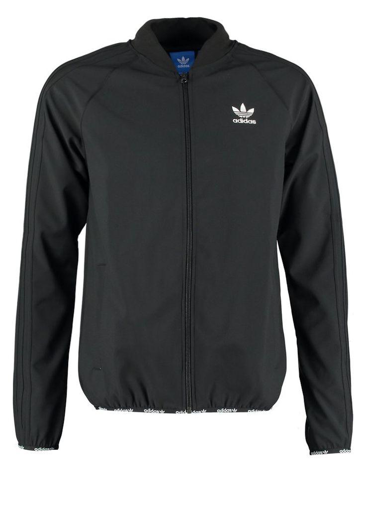 adidas Originals SUPERSTAR Trainingsjacke black/black Bekleidung bei Zalando.de   Material Oberstoff: 100% Polyester   Bekleidung jetzt versandkostenfrei bei Zalando.de bestellen!