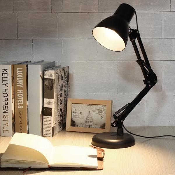 Folding 48 Led Usb Dimmable Reading Desk Adjustable Table Light
