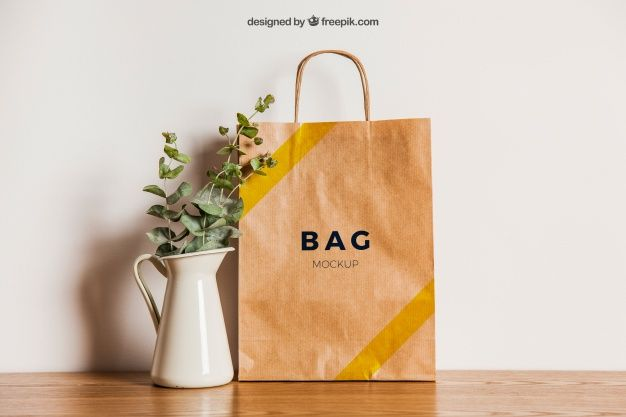 Download Paper Bag Mockup 27 Free Psd Ai Eps For Ready Made Download 32 In 2020 Bag Mockup Mockup Flower Pots