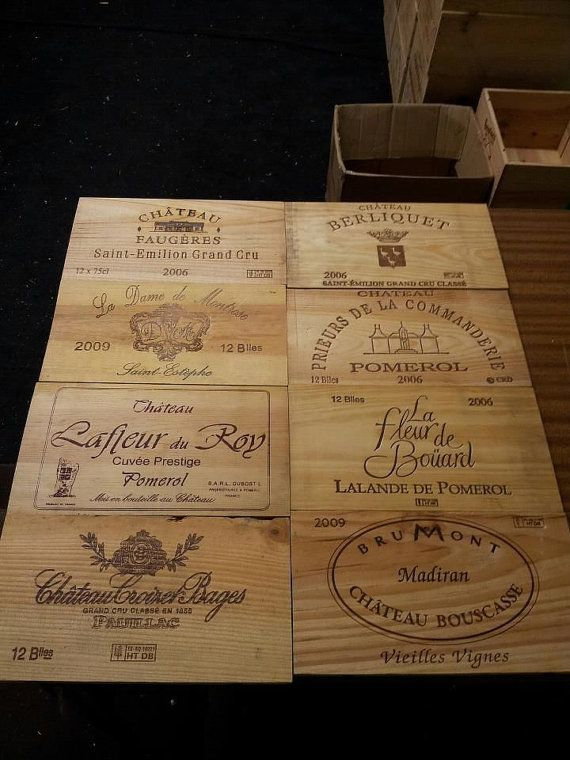 Pack of 12 TRADITION FRENCH VINTAGE wine box end by WineBoxesEtc