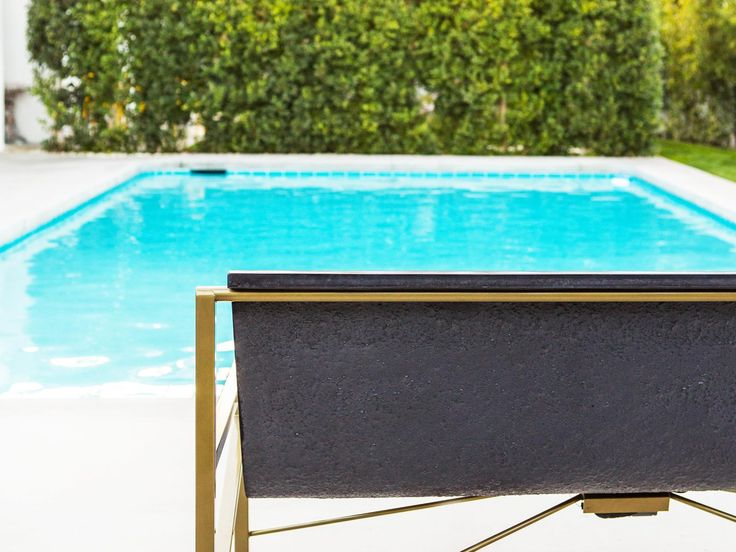 Keep warm in any season, day or night with Galanter & Jones Evia Heated Outdoor Lounge Chair. The first and only lounge chair of its kind, it warms your entire body with energy-efficient radiant heating. Inspired by leather sling chairs, it is the equivalent of relaxing in a hot tub without ever getting wet and is more efficient than traditional outdoor heating alternatives.   Shipping and delivery costs vary depending on location and is not included. Shipping charges will be calculated a...