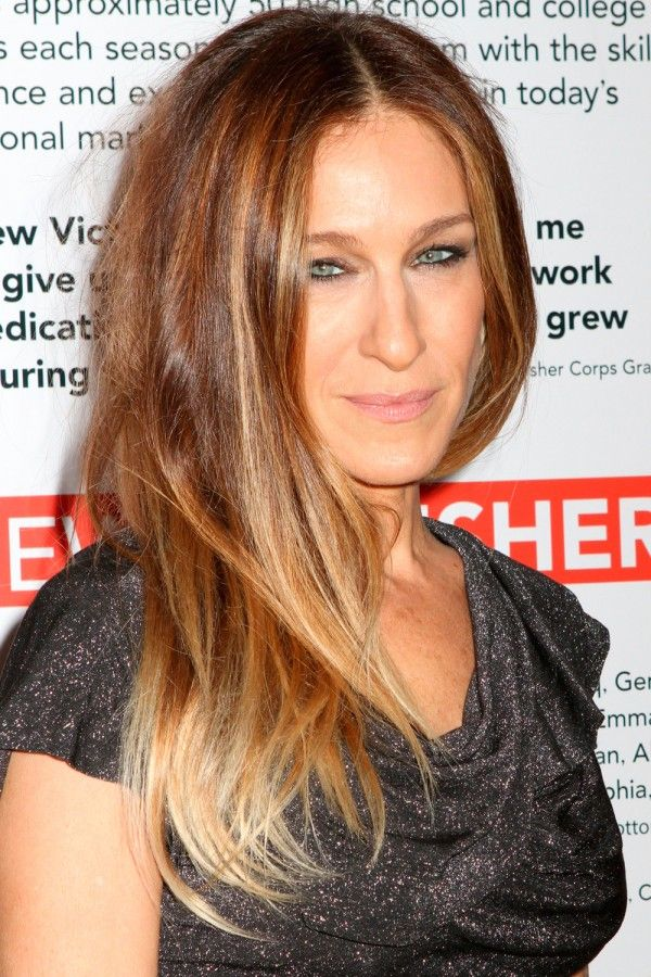 Sarah Jessica Parker with subtle tips