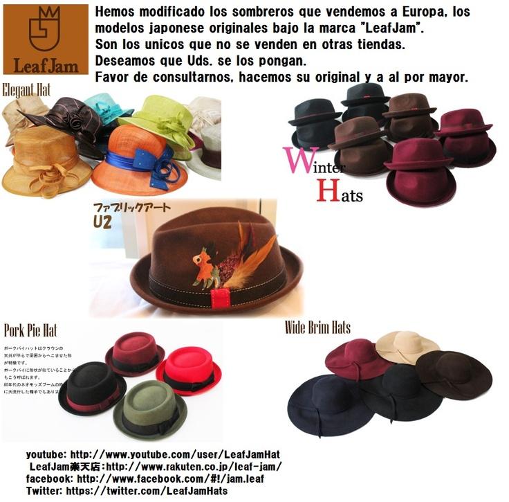 LeafJam, Sombrero hecho en Japon al mundo.