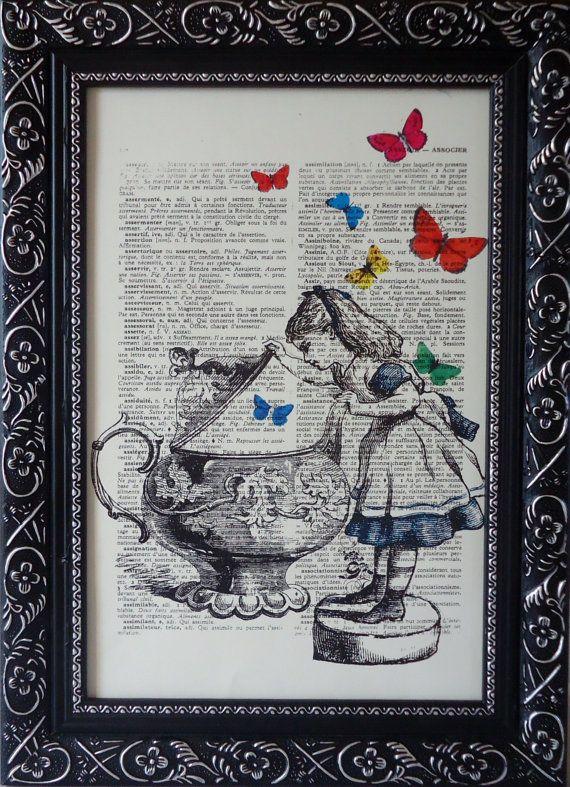 Alice in wonderland movie cake-7768