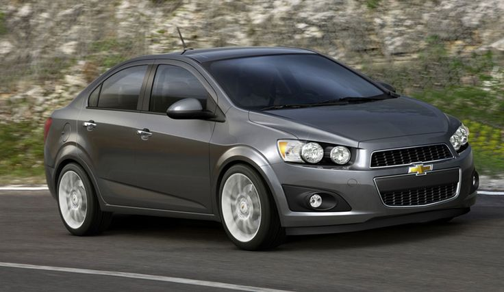 Chevrolet Aveo Dark brown 2013 - Car HD Wallpaper