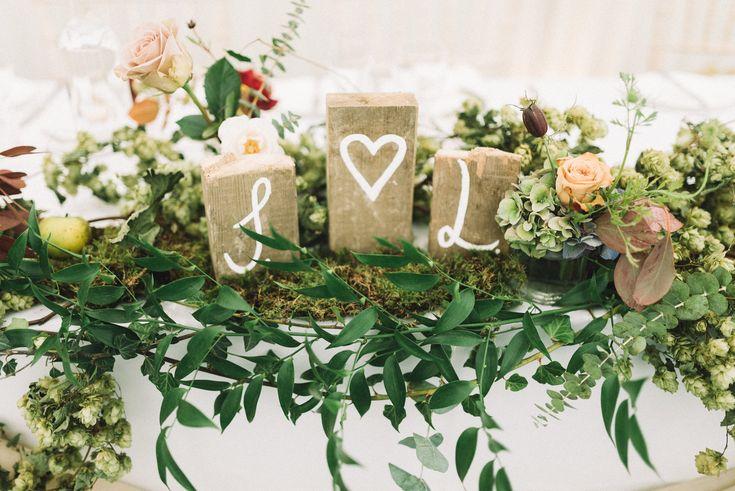 The most beautiful flower arrangements for Jess & Luke's Ashford, Kent Wedding. I loved their autumn farm theme https://www.luciewatsonphotography.com/essexweddingphotographer/weddingsblog/2017/10/8/jess-lukes-autumn-inspired-wedding-ashford