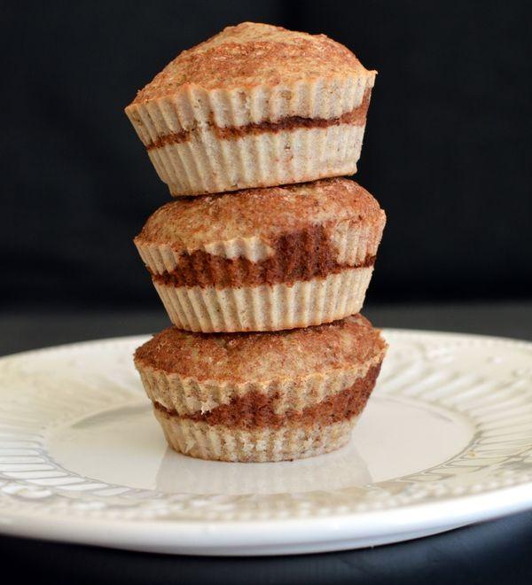 Kanel- og bananmuffins! (Bakekona)