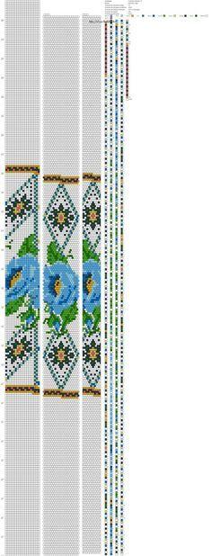Жгуты из бисера схемы   ВКонтакте