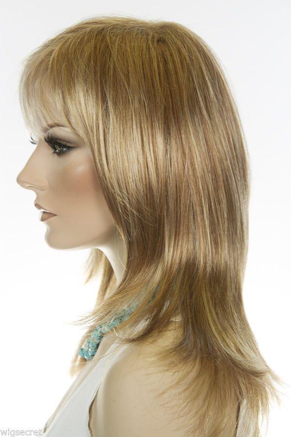 Angelique Long Medium Jon Renau Large Cap Straight Blonde Brunette Red Wigs Brunette To Blonde Remy Human Hair Wigs Kanekalon Hairstyles
