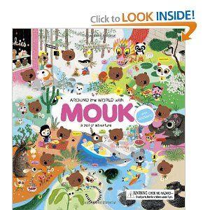 Around the World with Mouk: Marc Boutavant: 9780811869263: Amazon.com: Books