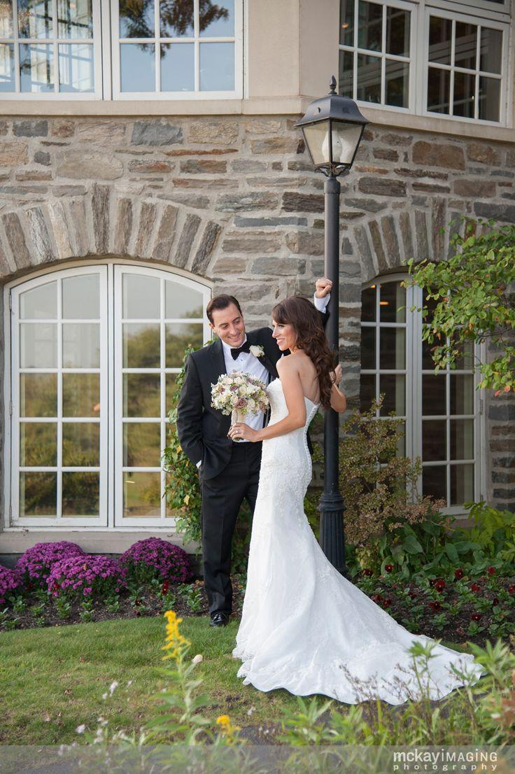 Huntingdon Valley Country Club Wedding Venue Philadelphia Bride And Groom Portrait