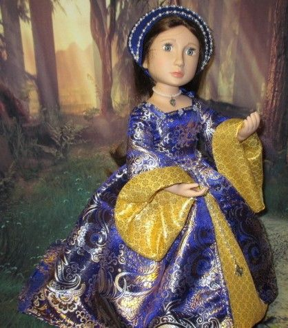 Anne Boleyn gown from Swish & Swirl pattern for A Girl for All time