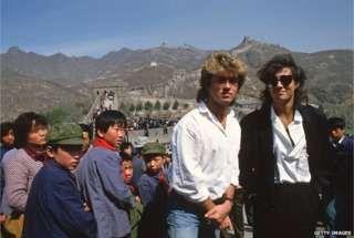 Como Wham! de George Michael se tornou a 1ª banda pop a tocar na China comunista #timbeta #sdv #betaajudabeta